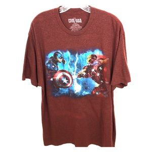 Marvel Captain America Civil War XL